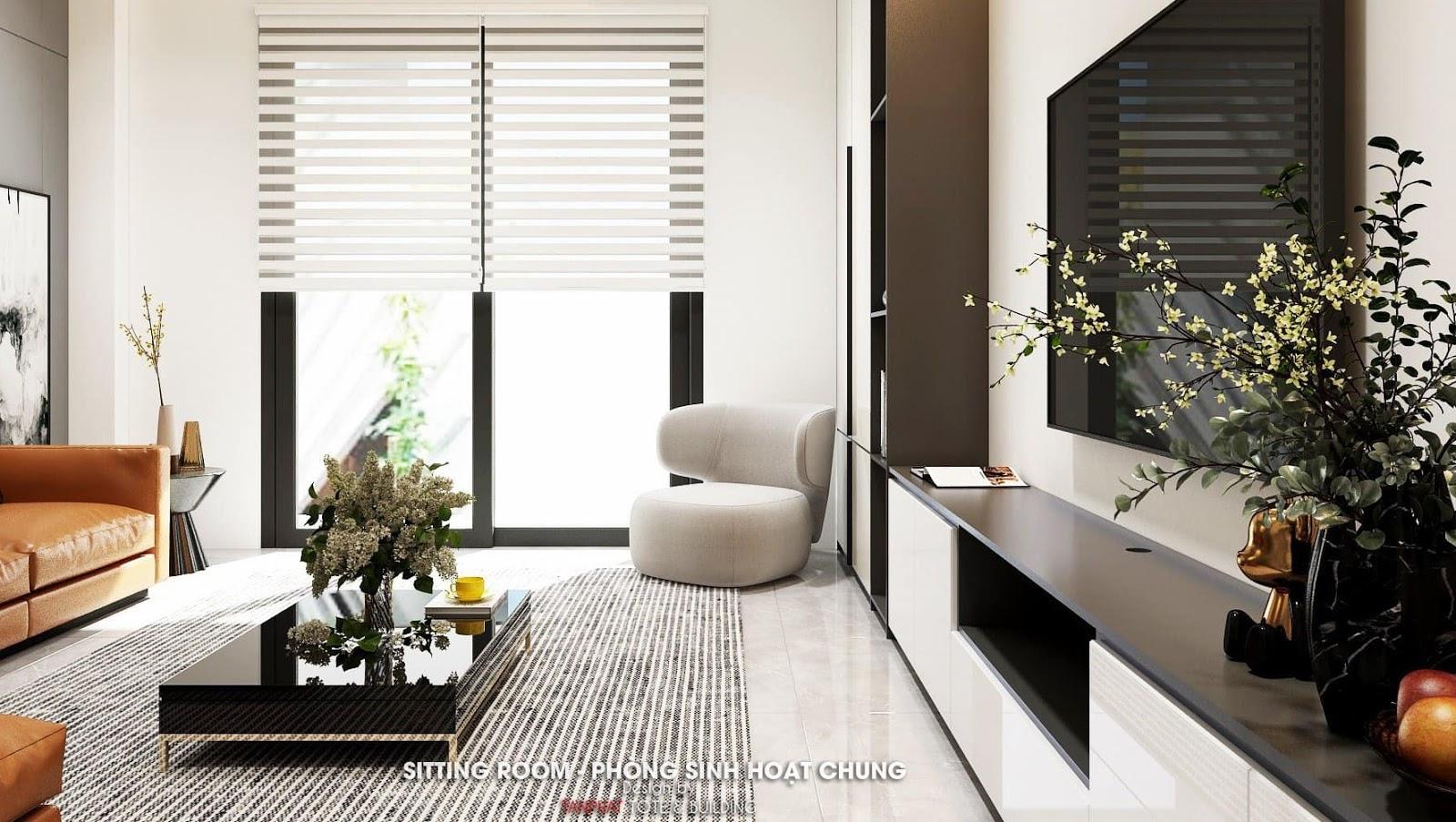 chi phí thiết kế nội thất căn hộ Quy Nhơn
